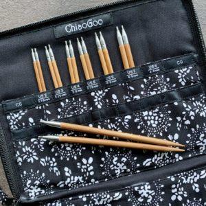 ChiaoGoo SPIN Set - Komplet - pindesæt - Bambuspinde i MOSO bambus