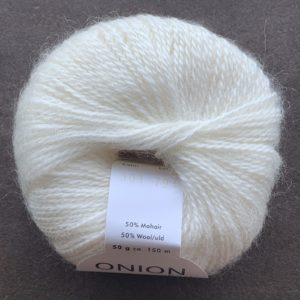 Mohair + Wool - mohairgarn fra ONION