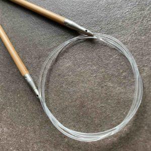 ChiaoGoo SPIN rotérbare kabler i nylon - Pindeliv