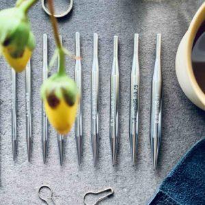 addiClick lace korte pindespidser - perfekte til ærmestrik - Pindeliv