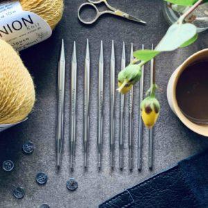 Addiclick lace lange pindespidser - strikkepinde i metal - Pindeliv