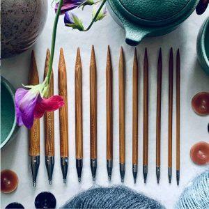 ChiaoGoo strikkepinde - strikkepinde med roterbare led - pindeliv