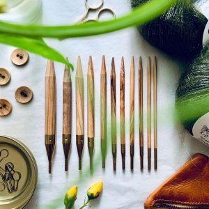 addi strikkepinde og strikkepindesæt - høj tysk kvalitet - pindeliv