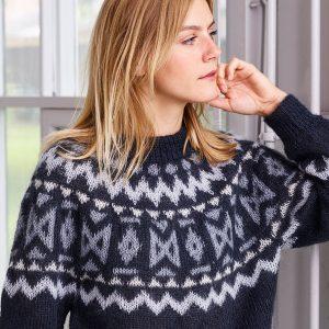 Strikkeopskrift ONION - Reykjavik sweater onion