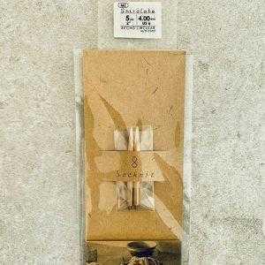 Seeknit Shirotake - Korte pindespidser 4,0 mm