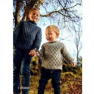Strikkeopskrift islandsk sweater til børn